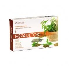 Hepadetox 20 ampolas