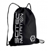 Gym Bag Black Silver Scitec