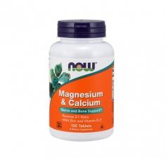 Magnesium & Calcium with Zinc, Vitamin D3 100 tab