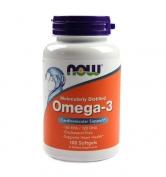 Omega-3 Molecularly Distilled 100 softgels
