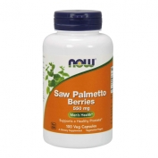 Saw Palmetto Berries 550mg 100 vcap